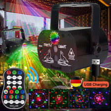 60 Muster RGB Laserlicht DJ Projektor LED Disco Beleuchtung für Home Party/USB