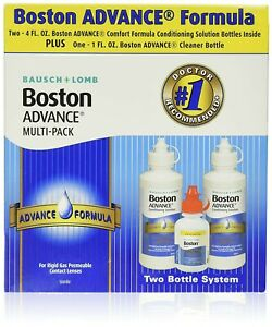 Boston Advance Multi-pack 2 X 4 oz Plus 1 oz Cleaner Bottle-