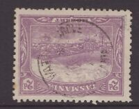 Tasmania WATTLE GROVE postmark on 2d pictorial rated S+ (6) by Hardinge