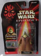 STAR WARS 1998 EPISODE I Collection 3 BOSS NASS Figure w/STAFF and CommTech Chip