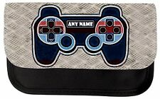 PERSONALISED GAME CONSOLE CONTROLLER PRINT SCHOOL PENCIL CASE MAKE UP BAG GIFT