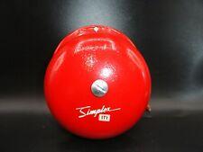 Simplex Str 4027 6 Red Single Stroke Bell Part 624 245 240v Ac Nos W Mount Qty1