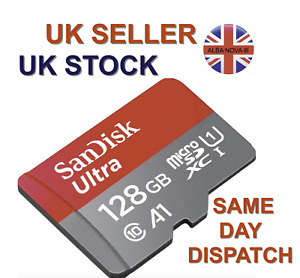 SanDisk ULTRA Micro SD Card Mobile Phone Camera Dash Cards 16 32 64 128gb Memory