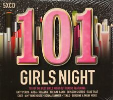 101 Girls Night (5 x CD) Lady Gaga/Rihanna/Take That/Soft Cell/Amy Winehouse