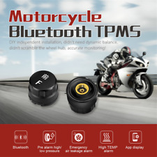 Motorcycle Bluetooth TPMS External Sensors for Android/IOS Tire Pressure Monitor