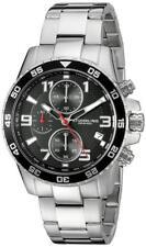 Stuhrling 985 02 Aquadiver Concorso Quartz Chronograph Silver-Tone Mens Watch