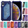 Glitter Quicksand Armor Shockproof Case Cover For iPhone XS Max XR X 6 7 8 Plus