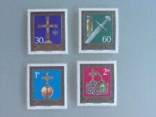 Liechtenstein 1975 SG#611-4 Imperial Insignia MNH