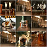 Champagne Flutes Glasses Gin Whisky Cocktail Barware Decanter Tumblers Glass Set