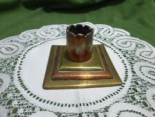 RARE Lovely Vintage Brass & Copper Poker Stand