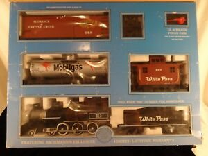 Bachmann Big Hauler Northern Express Train Set Rare & Complete