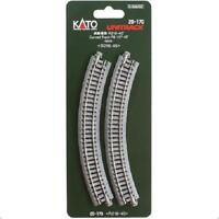 Kato 20-170 Rail Courbe / Curve Track R216mm 45° 4pcs - N
