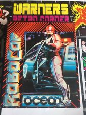 Amstrad Disk Disc Robocop  Rare Game W/ Manual Poster Boxed