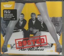 BUSTED Air Hostess w/ 2 UNRELEASED & VIDEO INTERVIEW & POSTER CD single SEALED
