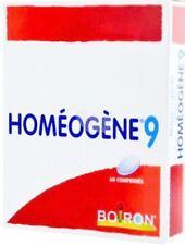 HOMEOGENE 9- 60 tabs.-HOMEOPATHIC PRODUCT FOR SORE THROAT, LARYNGITIS, CRUELTY.