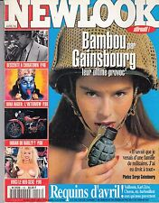 """MAGAZINE *NEW LOOK N° 128 / 1994"""" (BAMBOU par GAINSBOURG)"""