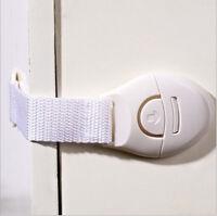 child Infant Baby Kids Toddler Fridge Cabinet Drawer Door Cupboard Safety Lock U
