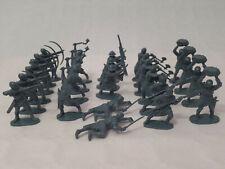 Lot de 25 Figurines Airfix 1/32 L'infantrie du Moyen-âge, no Atlantic,matchbox