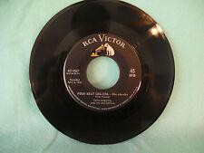 Tito Puente, Four Beat Cha Cha / Que Sera, RCA Victor 447-0587, 1956, Latin
