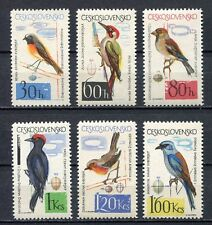 37132) CZECHOSLOVAKIA 1964 MNH** Birds 6v Scott# 1258/64