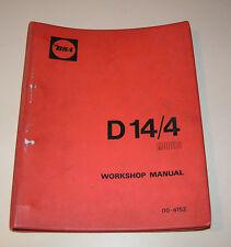 Werkstatthandbuch / Workshop Manual BSA Motorcycle D 14/4 models 175 cc !