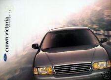 1999 Ford Crown Victoria sedan new vehicle brochure