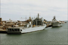 796083 RFA Arugs At Portsmouth Naval Dockyard England A4 Photo Print