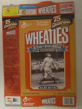 Empty WHEATIES Cereal Box 1999 BABE RUTH 75 Years of Champions 18 oz