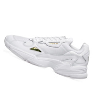 ADIDAS WOMENS Shoes Falcon - White & Gold Metallic - EE8838