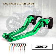 Motorbike CNC Alu Long Brake Clutch Adjustable Levers Set for KAWASAKI ZXR400