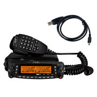 TYT TH-9800 Mobile Car Radio 29/50/144/430MHz 50W Ham Transceiver TH9800 + Cable