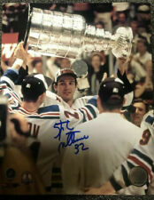 Stephane Matteau New York Rangers Autographed 8X10 Photo! Signed Picture LOA