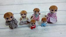 Sylvanian Families Meerkat Family of 6 - Including Babies