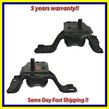 1996-2004 Ford Mustang 4.6L Front Left & Right Engine Motor Mount Set 2PCS.