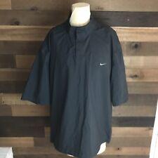 Nike Golf Storm Fit 3/4 Sleeve Black Jacket Mens Size Xl