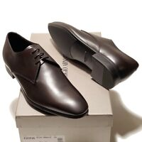 Giorgio Armani ITALY Brown Leather Formal Dress Oxford Men's Shoes X2C036 Tuxedo