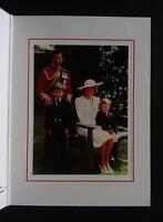 1988 PRINCESS DIANA PRINCE CHARLES SIGNED AUTOGRAPH Christmas card