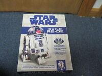 Star Wars Build R2-D2 Kit LED Lights Audio Chips & Book NEW