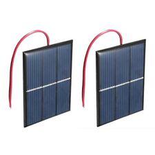 2 pcs 1.5V 400mA 80x60mm Micro-Mini Power Solar Cells For Solar Panels - DI J9L2