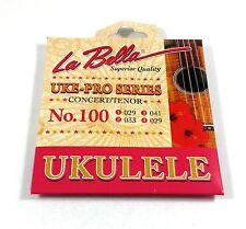 La Bella Ukulele Strings Uke-Pro Series Concert Tenor No. 100   029-033-041-029
