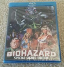 SIGNED RARE OUT OF PRINT! Biohazard Blu Ray by Fred Olen Ray Ltd Edition of 1000
