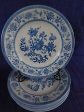 Churchill Indian Tree Blue SALAD PLATE 1 of 6 have more items to set