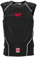 FLY RACING BARRICADE Adult Black Chest Roost Protector Under-Jersey Large/XL