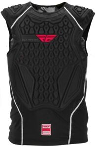 FLY RACING BARRICADE Adult Black Chest Roost Protector Under-Jersey SM/MED