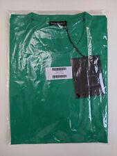 Acne Studios Nash Face Emerald Green T-Shirt L - Condition NEW