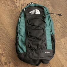 The North Face Mohawk Camping Hiking Day Pack Backpack Book Bag Green  VINTAGE