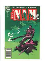 The 'Nam #55 VF+ 8.5 Newsstand Marvel Vietnam War 1991 Death of Joe Hallen pt.2