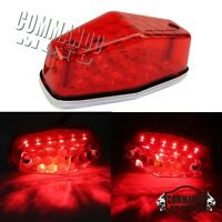 1 X Custom Lucas Led Red Brake Tail Light Taillight Universal For BSA Cafe Racer