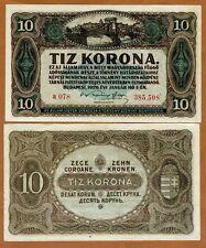 Hungary, 10 Korona, 1920, P-60, aUNC