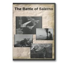 Battle of Salerno World War II WWII Italy Fifth 5th Army Aliied Attack DVD A811